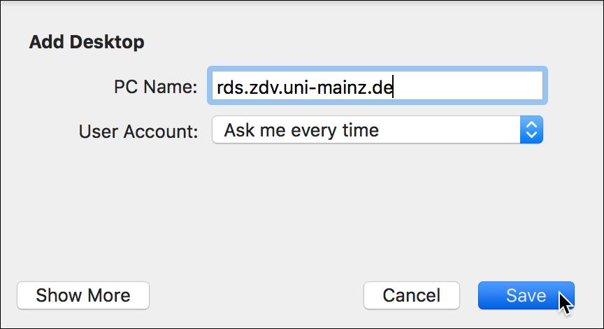 Remotedesktop Verbindungen Unter Macos Einrichten Zentrum