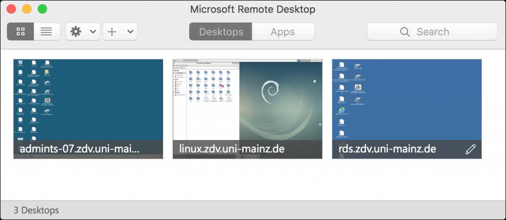 Remotedesktop Verbindungen Unter Macos Nutzen Zentrum Für